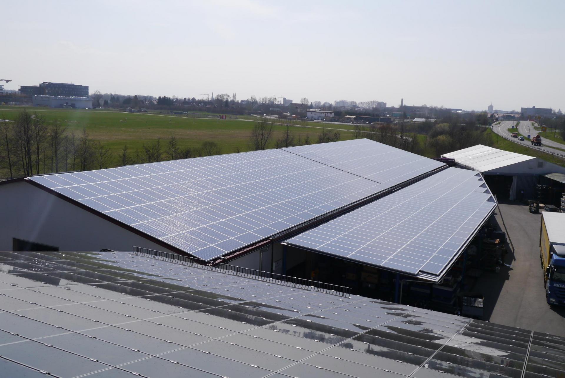213,08 kWp Photovoltaikanlage