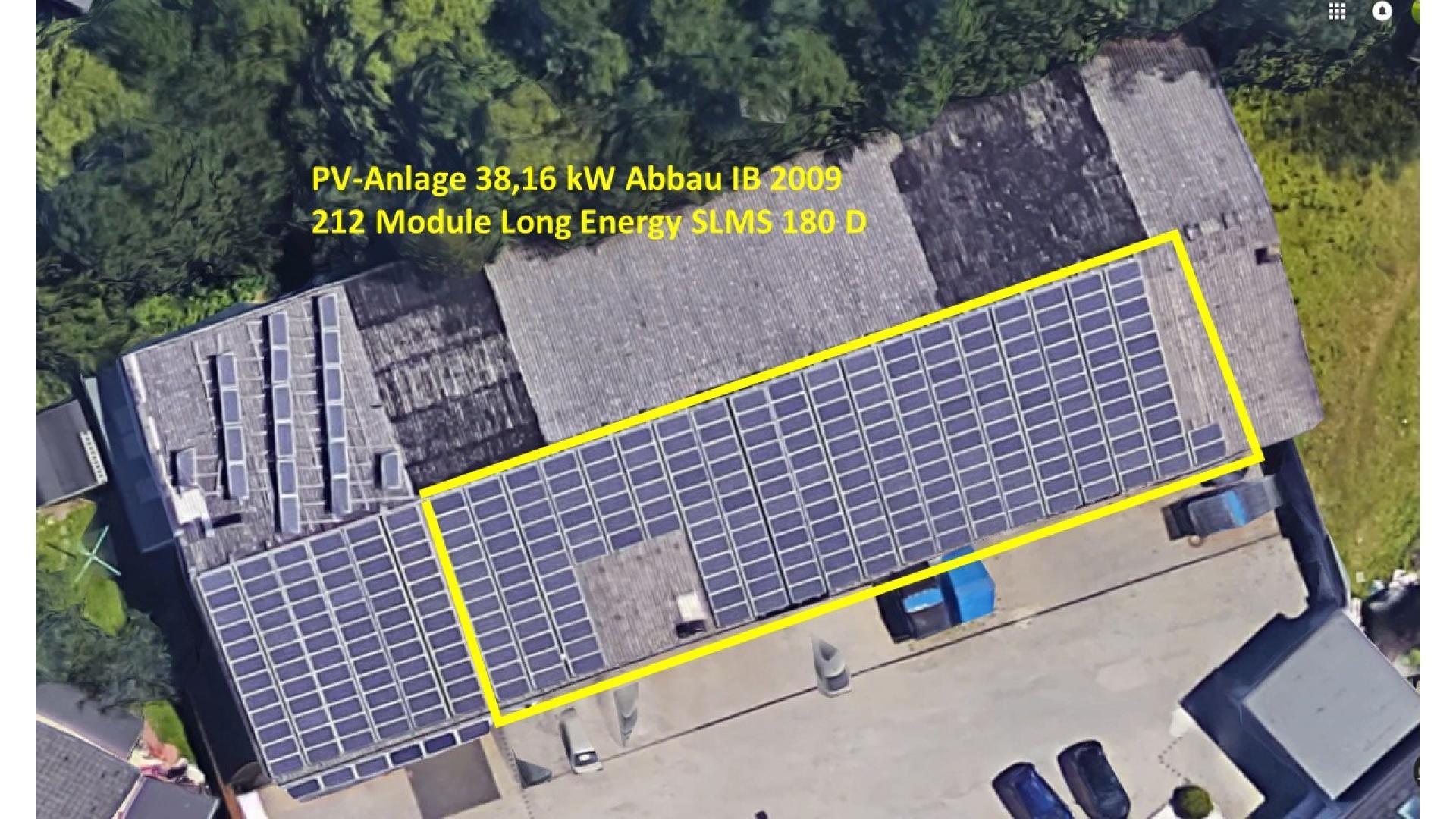 38,00 kWp Photovoltaikanlage