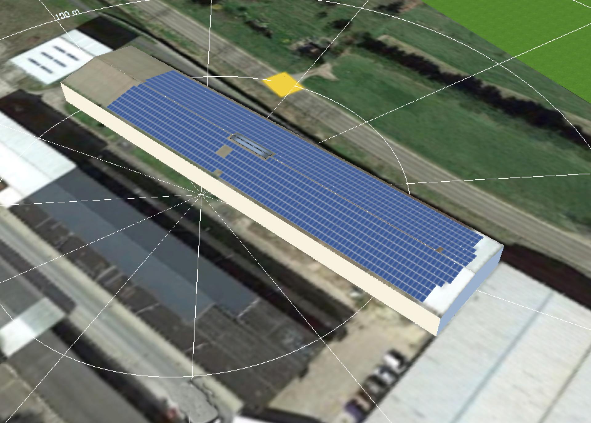 374,83 kWp Photovoltaikanlage